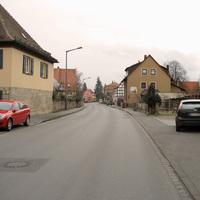 Anfahrt in Richtung Großhabersdorf.