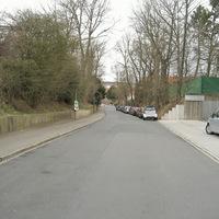 Anfahrt in Richtung Hans-Maier-Straße