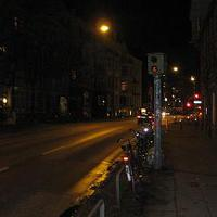 Stresemannstraße in Hamburg. Hier wird am fließenden Band geblitzt. 30km/h sind hier echt schwierig!