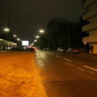 Messpunkt auf der Äusseren Bayreuther Strasse kurz nach der Hintermayrstrasse   ...leider nicht die besten Bilder, aber besser als nichts   ;-)
