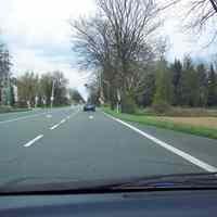 Anfahrtsansicht. Noch 2 km bis Büderich.
