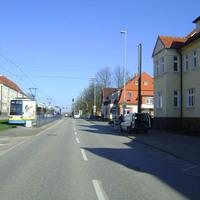 Das Ordnungsamt Schwerin war mal wieder in der Lübecker Straße am Messen, diesmal Höhe der Einfahrt Wossidlostraße. Hier stand sonst auch oft das Laserkommando des polizeilichen VÜD Schwerin.