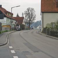 Anfahrt in Richtung Roßtal.