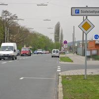Eine beliebte Messstelle der Fürther Polizei ist die Fronmüllerstraße.