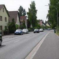 Anfahrtsansicht Richtung ortsauswärts / Heroldsbach