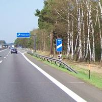 A12 Richtung Berlin kurz vor der Abfahrt Friedersdorf Bild ist schon von 2006, hab ich aber jetzt erst beim Aufräumen wiedergefunden