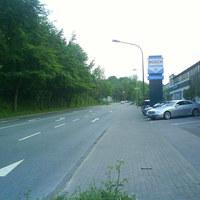 Anfahrtsansicht ; in Richtung Esso Tankstelle ; Richtung Bräuckenkreuz (Standzeit: ca. 18-21 Uhr)