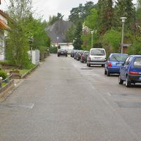 Anfahrt in Richtung Bahnhofstraße