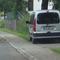 Das Fahrzeug besitzt ein Traffipax Speedophot II vorne und hinten. Hier in Höhe des Auslösepunktes.