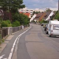 Anfahrt in Ri. Kurt-Schumacher-Straße.