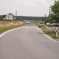 Anfahrt in Richtung Beutelsdorf.