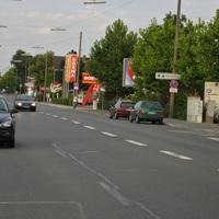 Der neue Kreisverkehr kurz vor der Messstelle ist nun fertig gestellt und es kann hier wieder geblitzt werden.