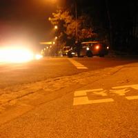 Hier mal mit der örtlichen Polizeistreife, die nicht ganz wusste was wir hier machten :-)