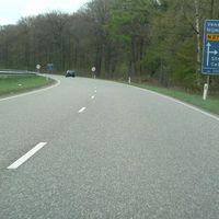 Anfahrt von Venlo kommend.
