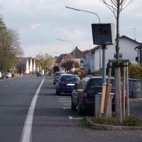 Starenkasten in Rödermark Ober Roden, Mainzer Straße,  von Urberach kommend.
