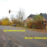 Auf der Quickbornerstrasse L 76 von Pinneberg kommend waren die Geräte nicht zu sehen...
