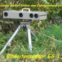 Dieser ES 1.0 steht sehr oft weit vom Fahrbahnrand entfernt, so das er kaum vorher zu sehen ist !!!