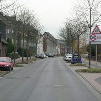 Anfahrt von Ampelkreuzung K8.