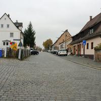 Anfahrtsansicht auf Höhe der Einmündung Braunsbacher Weg