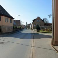 Anfahrtsansicht   ...meine erste Bilderserie im Ortskern von Ammerndorf