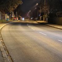 Üblicher Messpunkt in der Vacher Straße