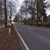 standardmäßige Anfahrt im Brandenburger Land.