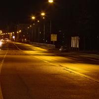 Richtung Maximilianstr.; aufgrund der Lichtreflexionen auf der Straße sind hier nicht gerade gute Aufnahmen entstanden.