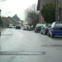 Anfahrt vom Ortskern zur Kempener Landstr. (K15).
