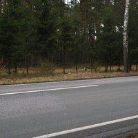 Meßaufbau Richtung Schwerin. Da die wenigsten mit einer Messung von links rechneten, gab's hier die meisten Bilder.
