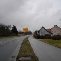 Richtung Bamberg fahrend