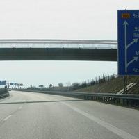 Anfahrtsansicht. Die Messstelle befindet sich kurz vor dem Kreuz Uckermark. Von hier sind es noch etwa 400 Meter bis zur Messstelle.