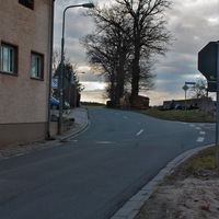 Anfahrt in Richtung Niederndorf.
