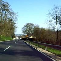 Die Anfahrtanischt (leider miese Qualität ) Bildquelle: www.radarfalle.jimdo.com