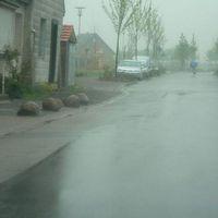 Anfahrt von Bodelschwinghstr. (Bilder wegen des Regens nicht so gut).