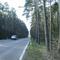 Wir befinden uns zwischen Leerstetten und Schwanstetten auf Höhe der Sperbersloher Straße. Hier gilt 60km/h.