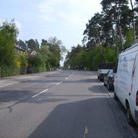 Anfahrtsansicht. Wir sind noch in Reichelsdorf und werden gleich die fließende Grenze nach Katzwang überfahren.