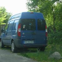 Jetzt der Messwagen FIAT Dublo mit dem Kennzeichen RZ-RZ 244 der VÜ-Ratzeburg!