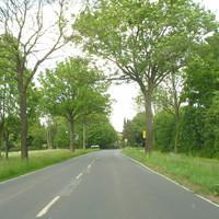 Anfahransicht aus Ellerhoop kommend in Rtg. Klein-Hemdingen / Bilsen