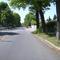 Anfahrtsansicht kurz hinter der Kreuzung Schmausenbuckstraße.