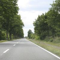 Anfahrtsansicht: 100er Strecke zwischen den Abfahrten Esterwegen und Bockhorst