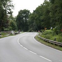 Anfahrtsansicht: Aus Edewecht kommend in Richtung der B401 (Friesoythe OT Edewechterdamm)