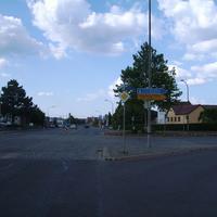 Anfahrtsansicht Höhe Fürther Straße.