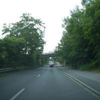 Anfahrtsansicht kurz nach der Kreuzung Breslauer Straße.