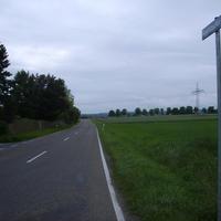 Anfahrtsansicht Höhe Wilhelm-Dümmler-Straße.
