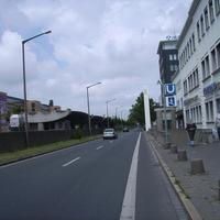 Anfahrtsansicht Höhe U-Bahnhaltestelle Eberhardshof.