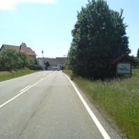 Anfahrt aus Richtung Balingen.