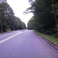 Anfahrtsansicht Höhe Imbuschstraße. Hier dürfte der Messbereich bereits begonnen haben.