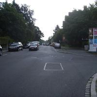 Anfahrtsansicht Höhe Nettelbeckstraße.