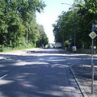 Anfahrtsansicht Höhe Umbenhauerstraße.