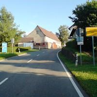 Anfahrt aus Richtung Eutingen.
